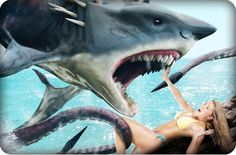 TV News: SHARKTOPUS VS MERMANTULA Is Happening