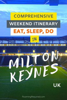 Discover Milton Keynes for a weekend. Eat, sleep and do, we cover everything you need to know. Travel Guides, Travel Tips, Travel Articles, Travel Destinations, Milton Keynes, Short Break, Weekend Breaks, City Break, Eat Sleep