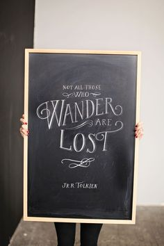 Illustrator and Letterer Molly Jacques // Not All Who Wander Are Lost // photography by Ashley Slater Photography // @Molly Jacques