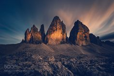 [:] Tre Cime null'altro [:] by Franz_Sussbauer. Please Like http://fb.me/go4photos and Follow @go4fotos Thank You. :-)