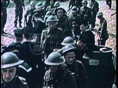 Výcvik čs. vojska v Británii - YouTube