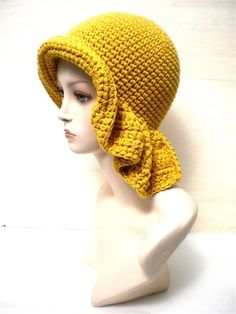 37 Ideas Crochet Beanie Adult Yarns For 2019 Crochet Adult Hat, Mode Crochet, Crochet Beanie, Knitted Hats, Crochet Scarves, Crochet Yarn, Crochet Clothes, Crochet Stitches, Crochet Patterns
