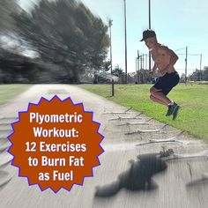 These plyometric jumping exercises can help give you healthier legs more shapely defined firmer and stronger. Try the 12 exercises in this fat-burning workout. (click through to article for all the exercise descriptions) Polymetric Workout, Workout Videos, Workout Fitness, Sport Fitness, Fitness Tips, Fitness Motivation, Plyometrics, Calisthenics, Mental Training