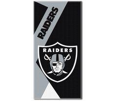 4693aa60efe064 Oakland Raiders NFL Puzzle Beach Towel