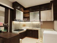 Desain Kitchen Set Dapur Kecil Minimalis