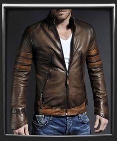 X-Men Origins: Wolverine Leather Jacket by Soul Revolver