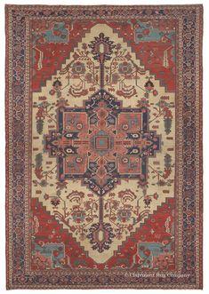 SERAPI - Northwest Persian 12ft 7in x 18ft 5in Circa 1900