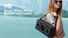 GGMM M4 WiFi Wireless Bluetooth Speaker Portable Audio HiFi Home Theatre Sound System Stereo Music Subwoofer Computer Speakers   Read more at Electronic Pro Market : http://www.etproma.com/products/ggmm-m4-wifi-wireless-bluetooth-speaker-portable-audio-hifi-home-theatre-sound-system-stereo-music-subwoofer-computer-speakers/   Plug -n-Play Wifi Wooden Wireless Speaker with Wi-Fi & Bluetooth 4.0 Transmission Support Airplay and Spotify  GGMM M4 WiFi Portable Bluetooth W