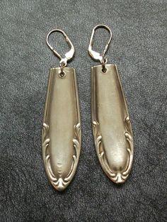 Ohrringe Ohrhänger 1 Paar Besteck Schmuck 521 von Atelier Regina auf DaWanda.com