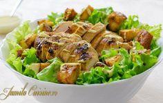 Reteta Salata Caesar cu pui