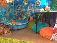 Under the sea role play EYFS