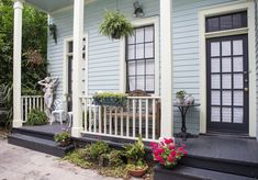 Anne's quiet Treme apartment is tucked away in the back of a large 100-year old home located on Esplanade Avenue near the French Quarter.