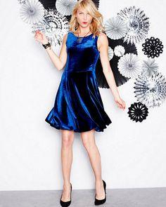 Tarlo Velvet Dress from Velvet by Graham & Spencer
