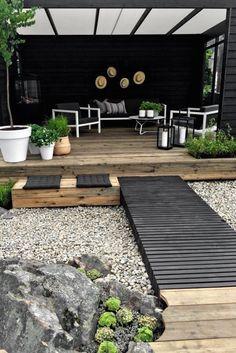 Best Pergola Design Ideas For Backyard 01 Backyard Garden Landscape, Gravel Garden, Backyard Patio, Backyard Landscaping, Backyard Ideas, Landscaping Ideas, Patio Ideas, Garden Path, Modern Landscaping