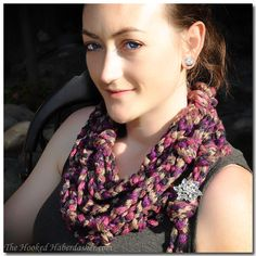 Free Pattern Twilight Romance Infinity Cowl. I was thrilled to receive a box from Red Heart!