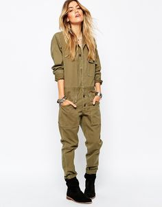 Image 1 of Denim & Supply By Ralph Lauren Utility Jumpsuit