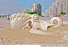 I Don't Want To Be Friends by Camilla Isley - Sand Sculpting Competition, Revere Beach