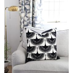 A graphic textured bird fabric in black and white that is flocked. Makes perfect drapery fabric and is suitable for upholstery, roman blinds, cushions, pillows Drapery Fabric, Sheer Fabrics, Home Decor Accessories, Decorative Accessories, Upholstered Rocking Chairs, Bird Pillow, Florida Style, Modern Throw Pillows, Fabric Birds