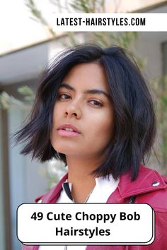 A little volumizing spray can bring out texture to jazz up a choppy cut. Visit our website to see our collection of popular choppy bob hairstyles. Photo credit: Instagram @yukistylist Choppy Bob Hairstyles, Latest Hairstyles, Choppy Cut, Textured Bob, Spray Can, Cut And Style, Bob Cut, Photo Credit