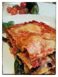 lasagne alla siciliana - Lasagne - different and delicious - Quinoa Recipes Italian Pasta Recipes, Sicilian Recipes, Spaghetti Soup, Crepes, Pasta Bake, Gnocchi, Pasta Dishes, Cooking Recipes, Ethnic Recipes