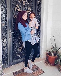 Pinterest: just4girls Muslim Fashion, Modest Fashion, Hijab Fashion, Girl Fashion, Hijab Style, Hijab Chic, Muslim Girls, Muslim Women, Baby Hospital Pictures