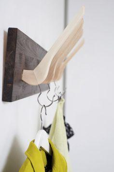 Eine DIY Garderobe für Kreative - IKEA Hacks