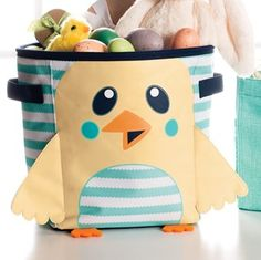 Spring Mini Storage Bin Makes A Perfect Easter Basket So Stinkin Cute