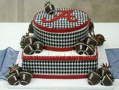 RTR Alabama Football! Classy cake from Cakes by Kristi in Mount Hope, AL