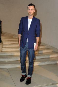 Kris Van Assche Photos: Christian Dior: Front Row - Paris Fashion Week Haute Couture F/W 2013