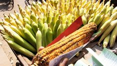 Corn grill street food video by AmarVideo Roast Corn, Food Videos, Spicy, Grilling, Fire, Vegetables, Watch, Youtube, Roasted Corn