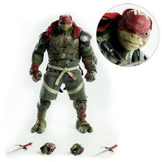Age Mutant Ninja Turtles Out Of The Shadows Raphael 16 Scale Action Figure