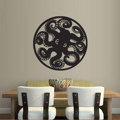 Wall Decal Decor Decals Art Sticker Octopus Tentacles Circle Ocean Sea Animal (M243) DecorWallDecals http://www.amazon.com/dp/B00FWKAAWG/ref=cm_sw_r_pi_dp_1gmYub0CYHT05