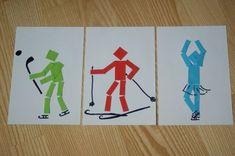 zabawy na śniegu collage prace dzieci - Szukaj w Google