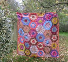Aurelia - my golden quilt to celebrate Autumn. This is a show quilt, to accompany my talks & presentations. Commissions welcome. Be Kind To Yourself, Workshop, Presentation, Autumn, Quilts, Blanket, Scrappy Quilts, Atelier, Fall Season