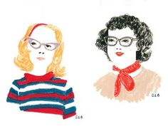 We're a wee bit smitten with aimee bee brooks and her darling doodles.
