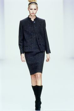 Calvin Klein Collection Fall 1995 Ready-to-Wear Fashion Show - Kirsty Hume