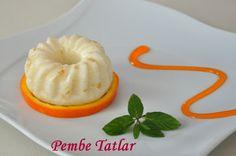 Pembe Tatlar: Portakallı Sütlü İrmik Tatlısı