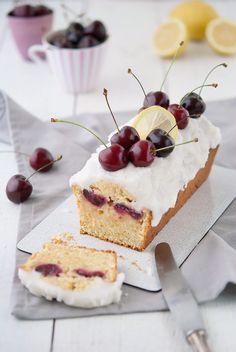 Zitronen-Kirsch-Kuchen