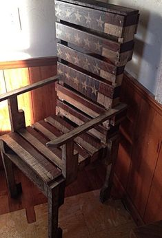 Simply clever homemade pallet furniture designs to start right now wooden pallets projects images bench no . creative idea for recycled pallet furniture Pallet Furniture Designs, Pallet Garden Furniture, Pallet Chair, Wooden Pallet Projects, Pallet Designs, Pallet Crafts, Furniture Projects, Rustic Furniture, Diy Projects