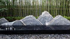 杭州富力十号示范区置石景观