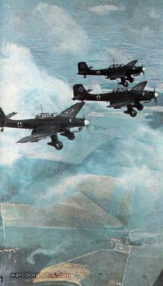 La Luftwaffe a color! [Imágenes Ineditas] - Taringa!