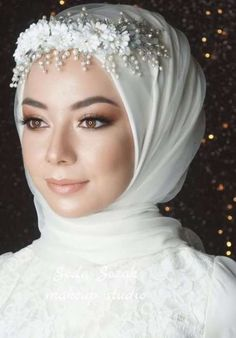 Hijabi Wedding, Wedding Hijab Styles, Wedding Robe, Muslimah Wedding Dress, Muslim Wedding Dresses, Princess Wedding Dresses, Boho Wedding Dress, Dream Wedding Dresses, Cinderella Wedding