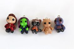 Guardians of the Galaxy Charm Dust Plug Key by WhimsicaIWonderIand #Groot #GotG