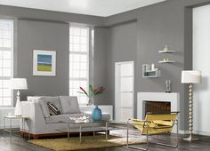 This is the project I created on Behr.com. I used these colors: GRAY PEPPER(BNC-25),