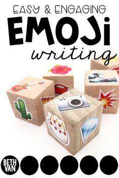 theteachyteacher: EMOJI EASY PEASY WRITING Activity