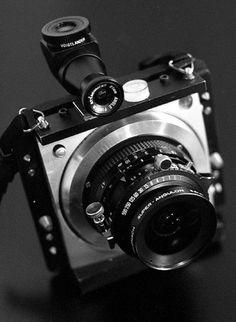 Homemade camera ultra wide medium format camera
