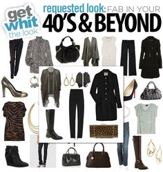 Get WHIT It : Celebrity Fashion & Style Trends: Requested Look: Fab in your 40's and Beyond!