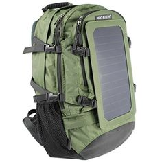 Small Solar back pack rucksack including battery /& connectors camping festival