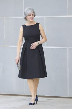 M&S black dress