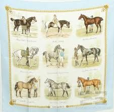 Vintage Hermes scarf.  This would be beautiful framed.